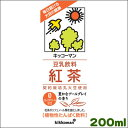 キッコーマン豆乳飲料 紅茶200ml×18本[常温保存可能]キッコーマンソイフーズ 豆乳