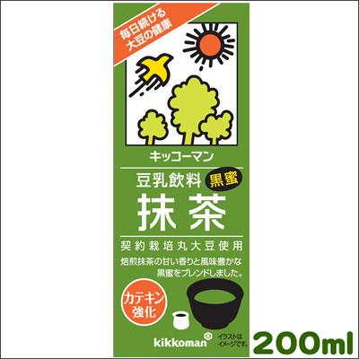 キッコーマン新豆乳飲料 抹茶200ml×18本[...の商品画像