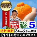 デコポン約5kg詰[味暦]ブランド 【送料無料】 紀州 有田...