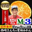 みかん 西崎さんちの有田みかん 約3kg(約30果...