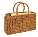 ショッピングカゴ 山葡萄 籠バッグ (内布・かぶせ付) 六角花編み 横長 浴衣 カゴバッグ かごバック カゴバック やまぶどう