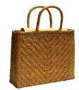 ショッピング母の日ギフト 山葡萄 籠バッグ S (内布・かぶせ付) 網代編み 浴衣 カゴバッグ かごバック カゴバック やまぶどう