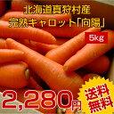 【にんじん/人参】【送料無料&まとめ買いで大幅割引!】北海道真狩村産完熟にんじん5kg 循環型農法の人参だからにんじんジュースにおすすめ!規格外でも味は一緒!10kg・15kg・20kg・25kgのセットあります!【福袋】【RCP】【冷蔵便】自社