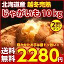 【送料無料】北海道産.越冬完熟じゃがいも10Kg(5Kg×2種類). 2種類のじゃが芋からお好きな2