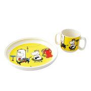 アラビア Arabia AR018711 Moomin Children set Role play 「ロールプレイ」 ムーミン キッズ用食器セット マグカップ&プレート皿 ≪北欧食器≫