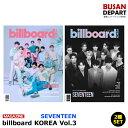 【日本国内発送】2種セット billboard Korea Vol.3 (2020) 表紙 : seventeen 折込ポスター 和訳つき1次予約 送料無料