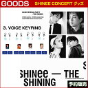 3. VOICE KEYRING / SHINee Special Party [The Shining] Official Goods /1次予約