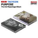 楽天BUSAN DEPARTポスター無しでお得 2種選択 TAEYEON 正規2集 Repackage [Purpose]和訳つき 韓国音楽チャート反映 1次予約 送料無料
