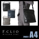 【在庫限り】エフクリオ F.CLIO ショルダーバッグ トートバッグ メンズ 革 本革 レザー PANTERA パンテーラ 97210
