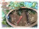 摂氏430℃、華氏800Fまで対応【差込タイプ・楕円形の温度計】ピザ窯・薪ストーブ・バーベキュー・グリルなどに。