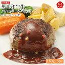 黒毛和牛生ハンバーグセット 160g×5pc ハンバーグソース付き【送料無料】