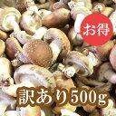 【送料無料】群馬県産 しいたけ(椎茸) 訳あり 500g 【生しいたけ/きのこ】