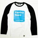 ショッピングforever TWELVE Foreversnow Raglan Long Sleeve Tee ロンT 2010 model