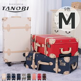 【TANOBI】 スーツケース M サイズ トランクケース 一年間保証 送料無料 TSAロック搭載 超軽量 4日 5日 6日 7日 中型 軽量スーツケース トランク キャリーケース キャリーバッグ かわいい 4輪