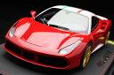 【平日即日発送可能】BBR 1/18 フェラーリ 488 GTB Race version P18106NLV モデルカー ミニカー 送料無料