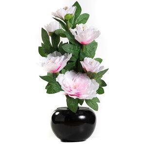 仏花 LEDフラワー彩華 牡丹 お盆 造花 御供 初盆 進物