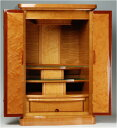 ピアノのように美しい上置型仏壇。キャメルーナ[上置型モダン仏壇]・