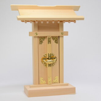 Small Shinto shrine (high tag-length 28, 33) storage altar set up to review benefits God Jig set free service, wall mountable small altar tails province cypress (Kiso hinoki) use domestic products 28 cm Bill _ altar _ modern _ new year's _ Buddhist suppl