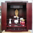 [family's Buddhist altar] [modern family's Buddhist altar] [furniture-like family's Buddhist altar] a light rose wood color [smtb-td] [RCP]