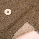 ニット生地 ほっこり暖かな 圧縮ウールライトタイプ起毛裏毛カーキグリン