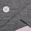 ニット生地 天竺 メグロ杢 150cm 幅 Tシャツコットン 50cm単位 はかり売り 手芸 クラフト ファッション