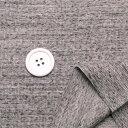 ニット生地 リブニット トレーナーの衿 ミドルウエイト メグロ杢 幼稚園パンツコットン 50cm単位 はかり売り 手芸 クラフト ファッション