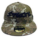 Stussy (スチューシー) DESTINY CAMO NEW ERA CAP