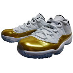 "NIKE (ナイキ ジョーダン) AIR JORDAN 11 RETRO LOW ""METALLIC GOLD"""