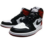 "NIKE (ナイキ ジョーダン) AIR JORDAN 1 RETRO HIGH OG ""BLACK TOE"""