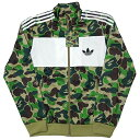 adidas originals (アディダス) × A BATHING APE (エイプ) FIREBIRD TRACK TOP JKT