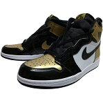 "NIKE (ナイキ ジョーダン) AIR JORDAN 1 RETRO HIGH OG NRG ""GOLD TOE"""