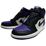 "NIKE (ナイキ ジョーダン) AIR JORDAN 1 RETRO HIGH OG ""COURT PURPLE"""