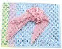 横浜生まれの絹のスカーフ(フラワーグリッター)