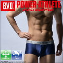 BVD POWER-ATHLETE ローライズボクサーパンツ スポーツアンダーウェア 【コンビニ受取
