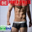 BVD POWER-ATHLETE マイクロボクサーパンツ ローライズ スポーツアンダーウェア 【コンビニ受取対応商品】