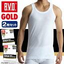 B.V.D.GOLD ランニング 2枚セット LL  BVD 【綿100%】 タンクトップ メンズ インナー 下着 インナーシャツ【白】 【コンビニ受取対応商品】