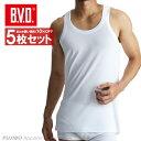 5枚セット B.V.D.Finest Touch EX ランニング(S M L)  日本製   綿100%  シャツ メンズ インナーシャツ 下着 抗菌 防臭  白   コンビニ受取対応商品  gn315-5p