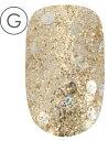 ネイルラボ カラージェル G010 ゴールドラッシュ 7g | 日本製 国産 プロ LED UV 対応 削らない グリッター ラメ 金 ゴールド 銀 色 カラー セルフネイル ネイル ねいる ジェル 初心者 ポリッシュ マニキュア マネキュア ブラシタイプ パーティー