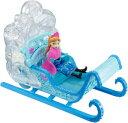 【アナ雪】【人形】 雪が舞うしかけ付きなの! アナと雪の女王 マジカルスノーソリセット 【Disney 人形 ソリ ギミック アナ エルサ オラフ ディズニー プリンセス アナと雪の女王 音が鳴る 光る 女の子 ぬいぐる...