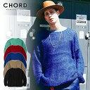 50%OFF SALE セール コードナンバーエイト ニット CHORD NUMBER EIGHT MOHAIR KNIT ストリート系 ファッション