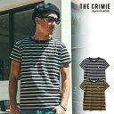 ショッピング予約 先行予約 クライミー Tシャツ CRIMIE BORDER POCKET T-SHIRT 5月〜6月入荷予定 ストリート系 ファッション