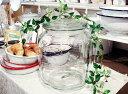 【今だけ送料無料!】【Glass Cookie Jar アンティ...