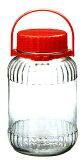 东洋佐々木玻璃 果实酒瓮(青梅酒瓶)4L(5号)日本制[東洋佐々木ガラス 果実酒瓶(梅酒びん)4L(5号)日本製]