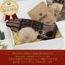 ★送料無料★◆クリスマススペシャルBOX【Aタイプ】チェック柄ウールカシミヤスマホ手袋 ファ