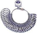 リングゲージ 指輪ゲージ 指輪サイズ 測定MKS 内甲丸リングゲージ #40670【2P05Nov16】