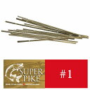 スイス製 糸鋸刃 SUPER PIKE (スーパーパイク)#1 1D