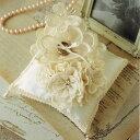 リングピロー 手作りキット Juno(ジュノー)大きなお花とブーケのピロー
