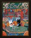 クロスステッチ 刺繍 キット (刺しゅう キット)ルシアン リサとガスパール 8531春のカフェ 初心者向け