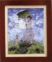 クロスステッチ 刺繍 キット (刺しゅう キット)オリムパス日傘をさす女【モネ作】