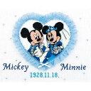 クロスステッチ 刺繍 キット (刺しゅう キット)オリムパス ウェディング 結婚式用スウィートハート ミッキーマウス(ディズニー)ウェルカムボード